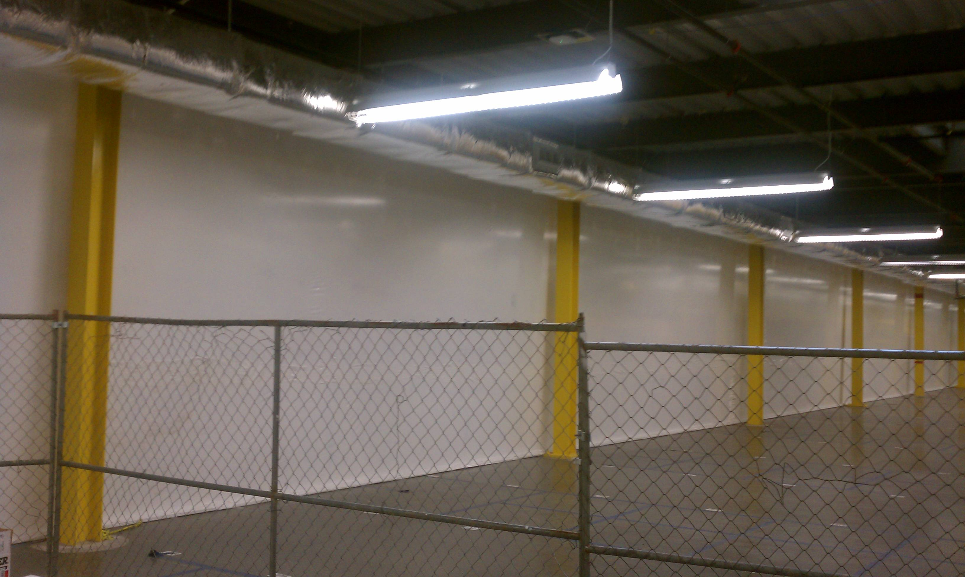 Temporary Enclosures For Construction : Temporary walls plant dividers building enclosures