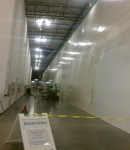 Temporary containment recent shrink wrap projects for Construction interior dust control